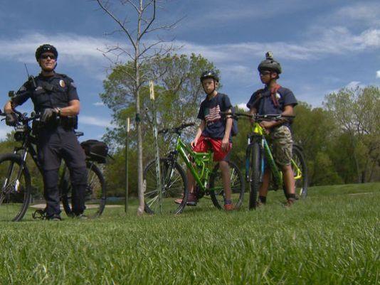 Traffic cop turns police escort for 8th grader