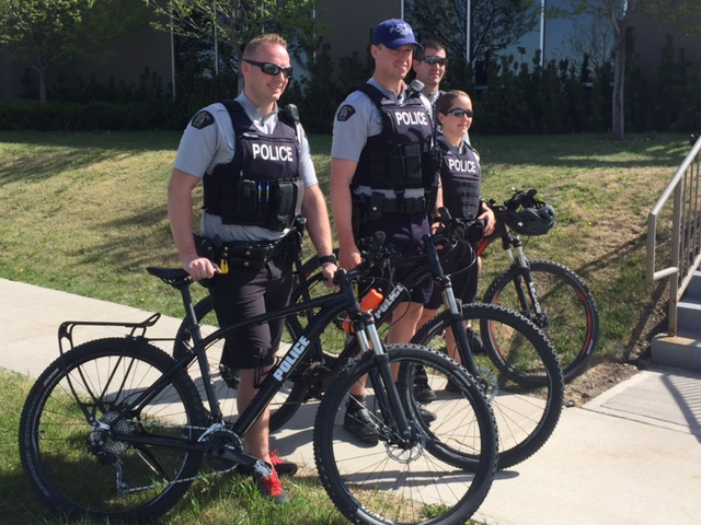 RCMP Are Out Biking This Summer