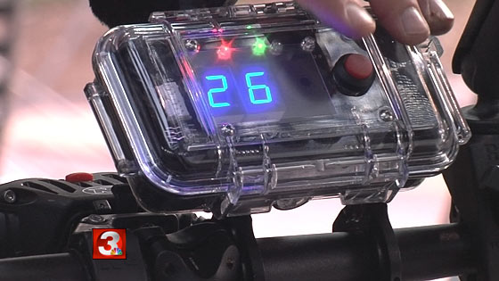 New device helps police enforce state 3-foot law