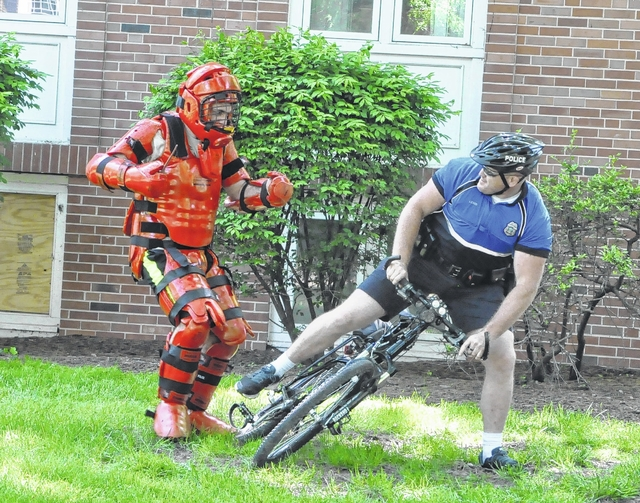 Delaware police host bike police training