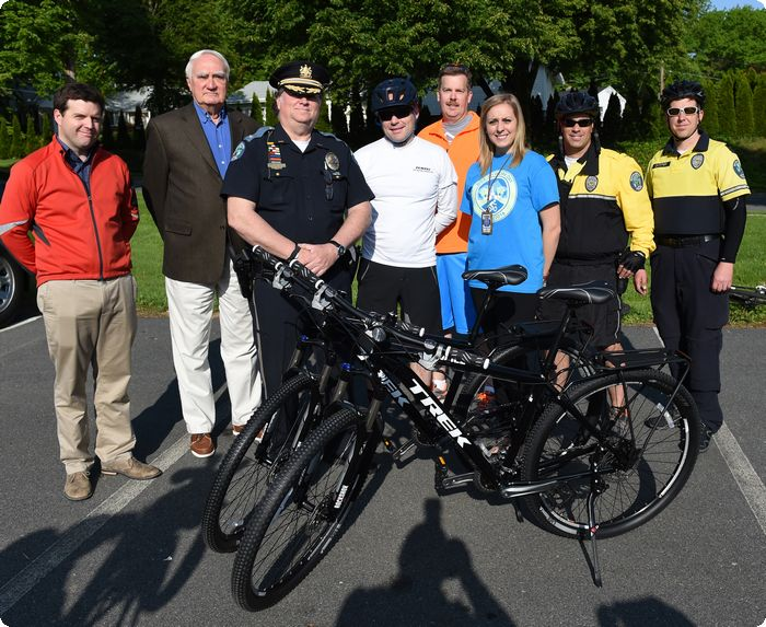 Berks bicyclists mark anniversary of bike to work program