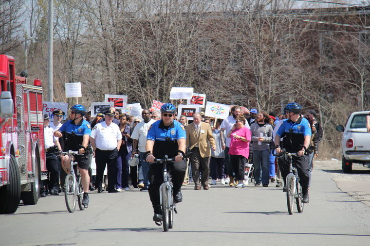 Mansfield Police pedal for justice and community