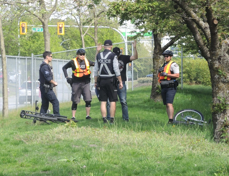 More to police biking than pedaling in Richmond