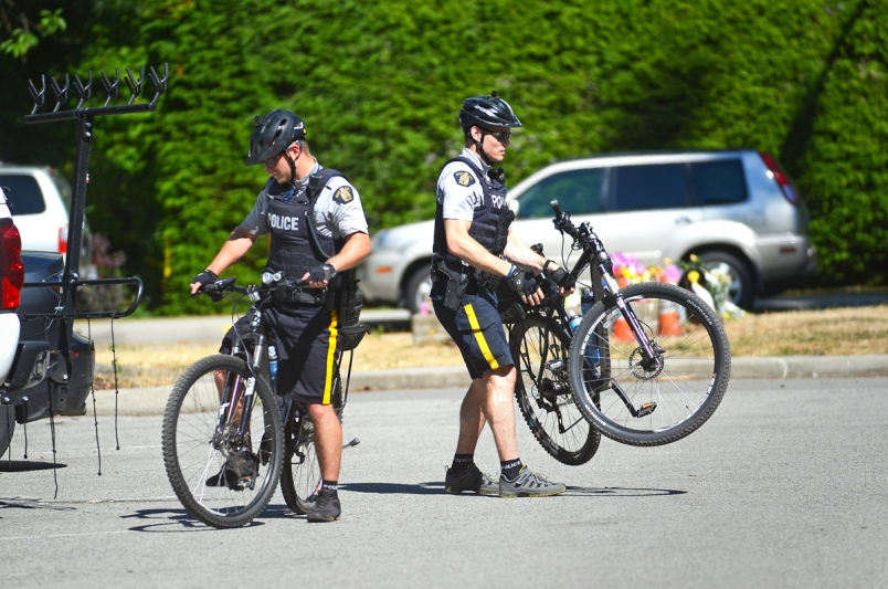 Seven bike cop positions lost in Burnaby