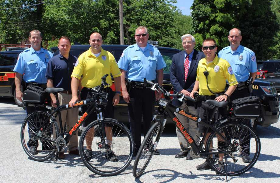 EPD receives bike donation from Madison County Transit