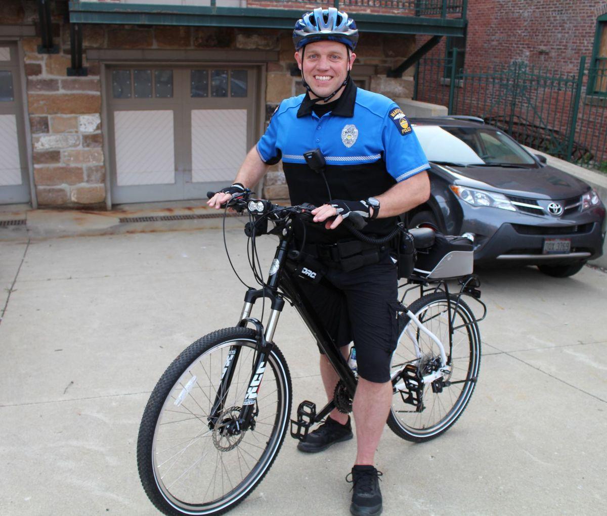 Foundation grant revitalizes Mansfield PD bike patrol