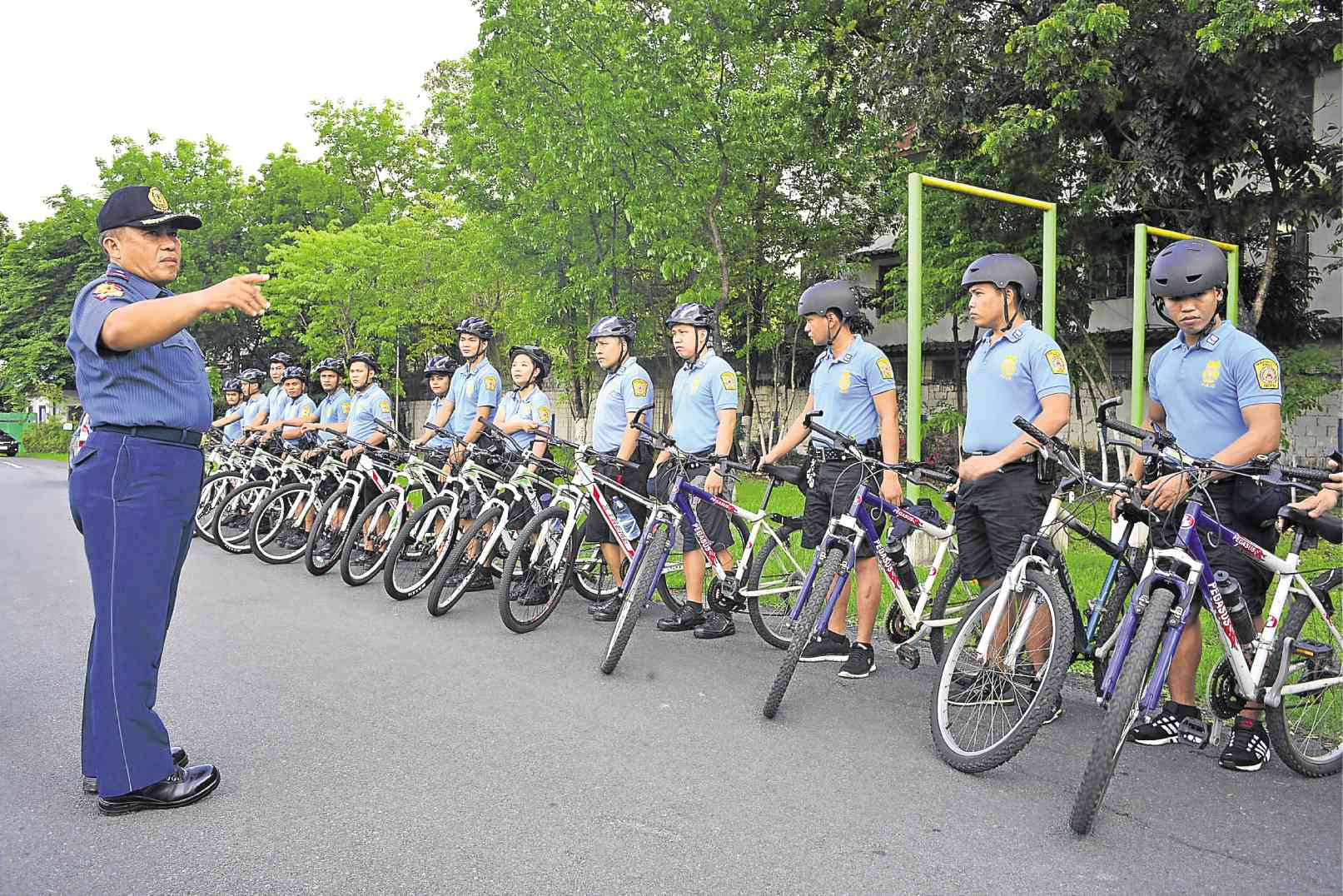 QC bike patrol guards vs crime while promoting earth-friendly transport
