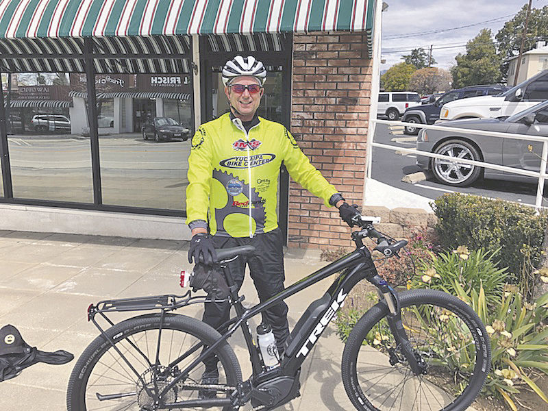 Retired police deputy enjoys eBikes