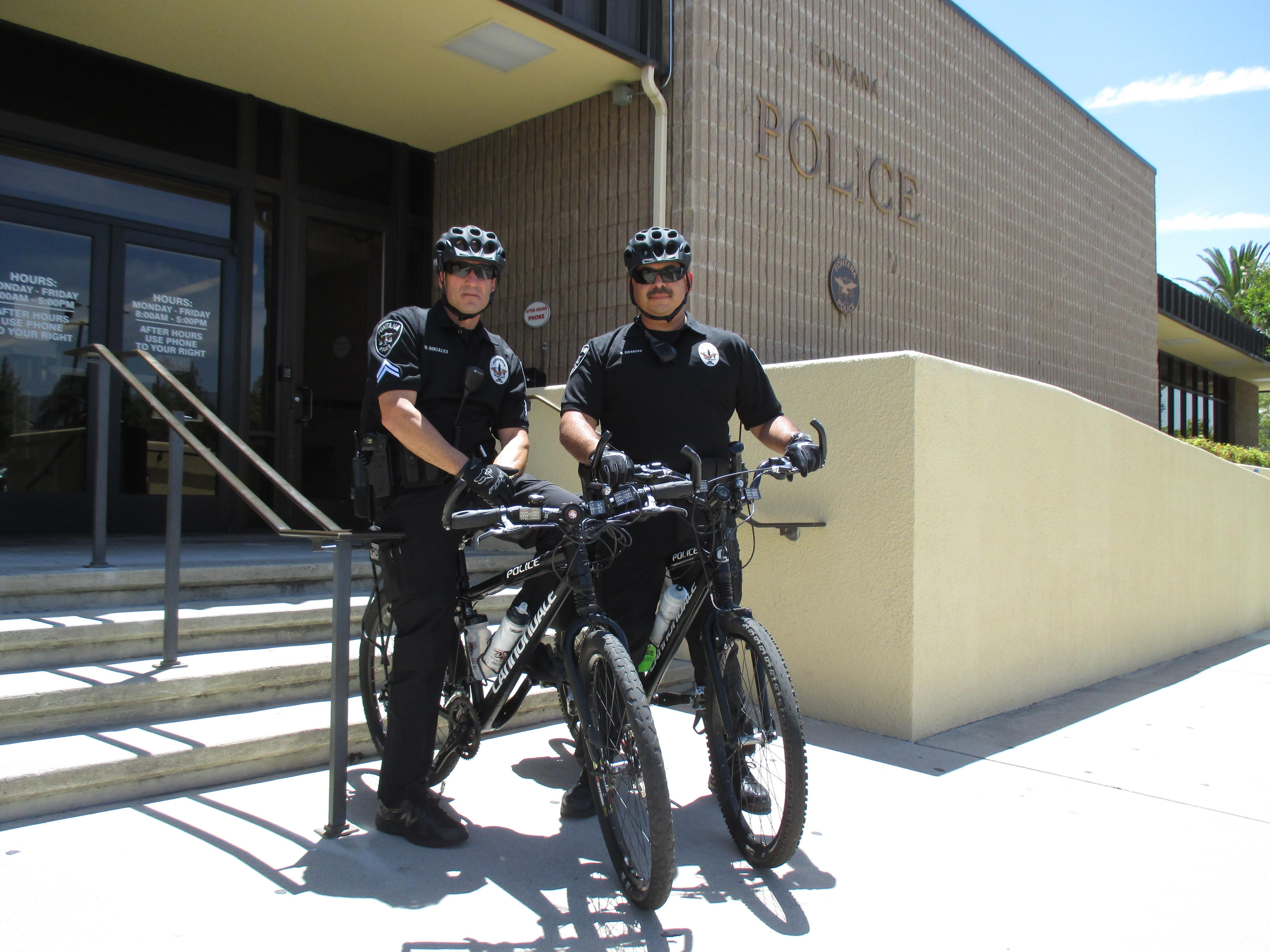 Fontana Police Department brings back bicycle patrol