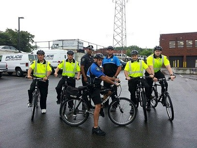 Bike police patrols return to North Providence