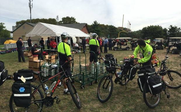 N.J.'s MedCycle mobilizes EMT services on bikes for events, parades