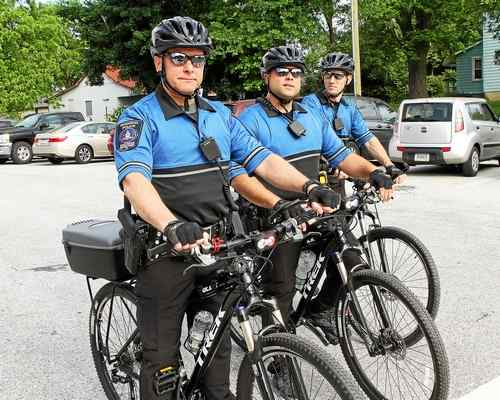 Regional police hit the streets on bikes