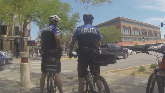 Rapid City officers are now on bike patrol