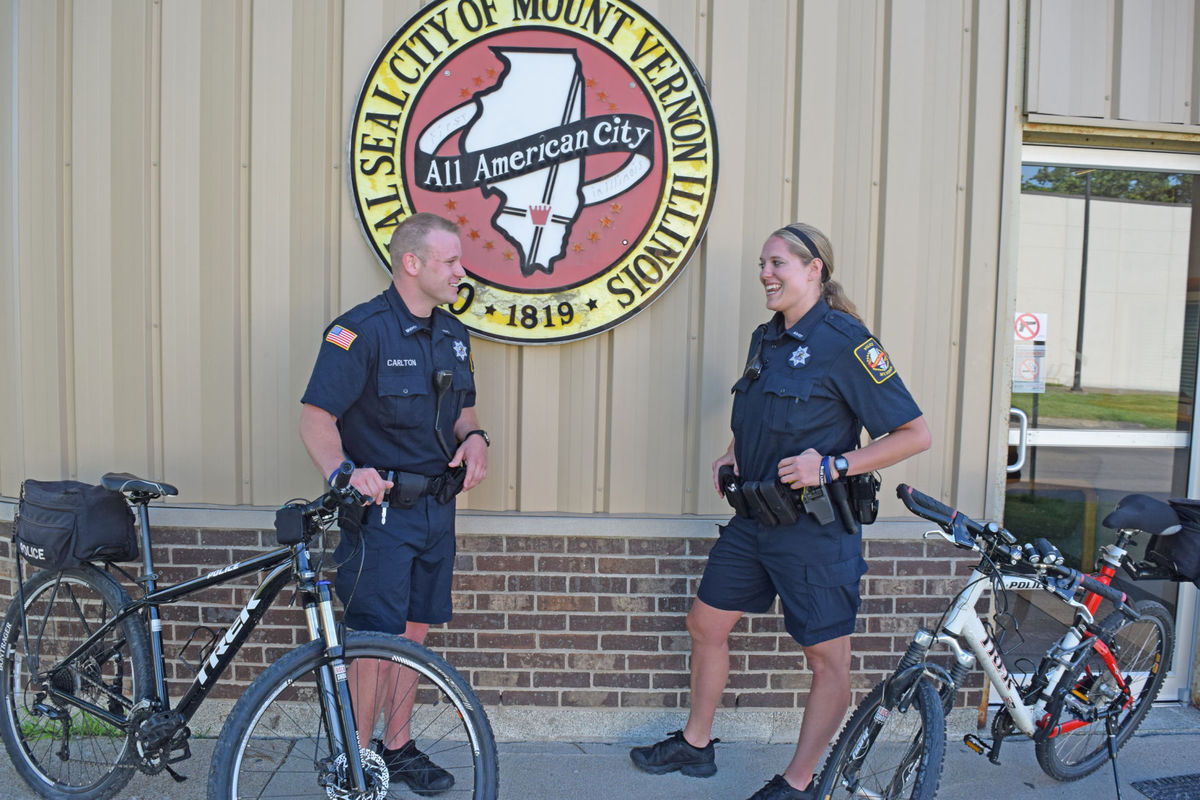 MVPD has three new bicycle officers