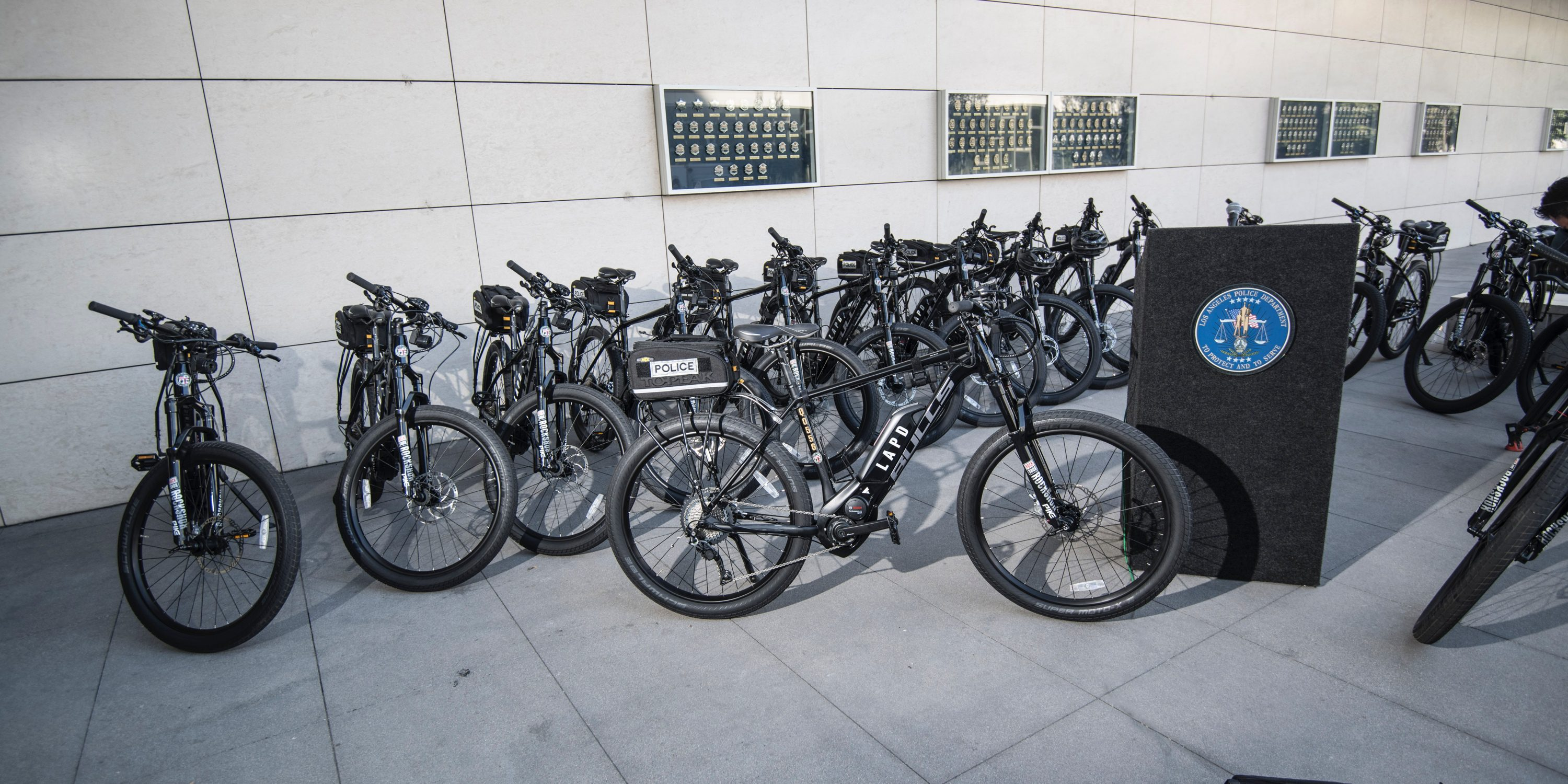 LAPD brings the heat with new electric bicycle fleet