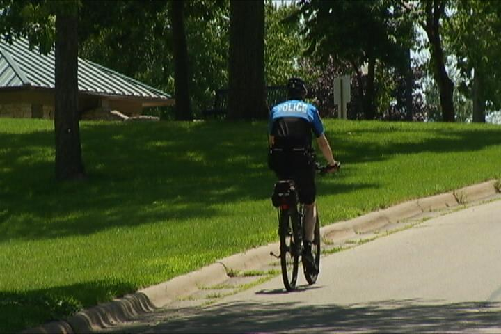 Heightened police presence on bikes during Riverfest