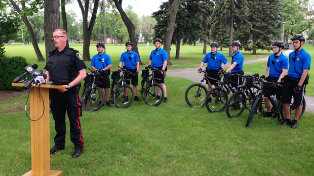 Cadets on bikes will enhance visibility, accessibility