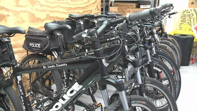 St. Louis Co Police Department adding new group of bike patrol officers