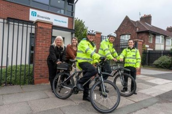 Riverside tells Dovecot bobbies 'on your bike'