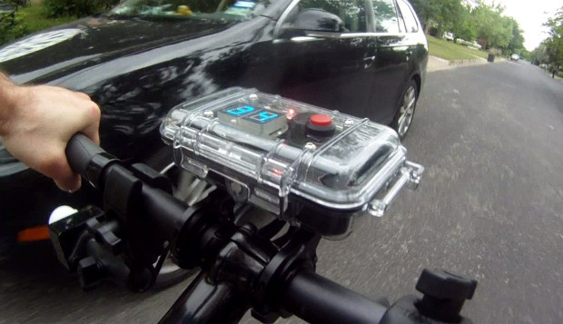 A Nifty Device to Stop Cars From Driving Too Close to Bikes