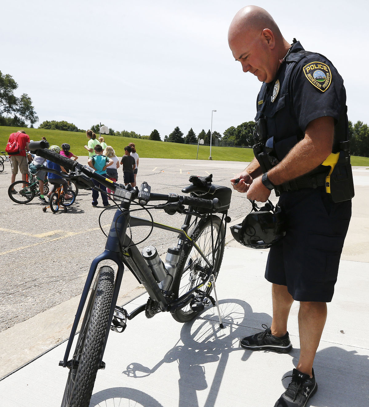 Bike patrol prepares to ride again