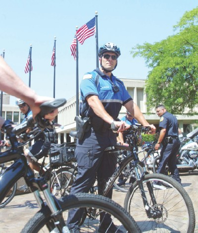 Lowell police put pedal to pavement on community policing