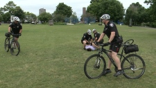Ottawa Bike Patrol Shows Off Its Pedal Power