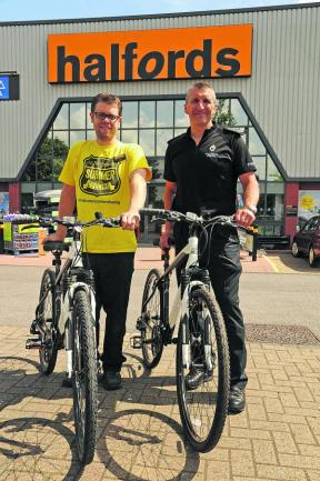Firm backing for Trowbridge police's bike effort