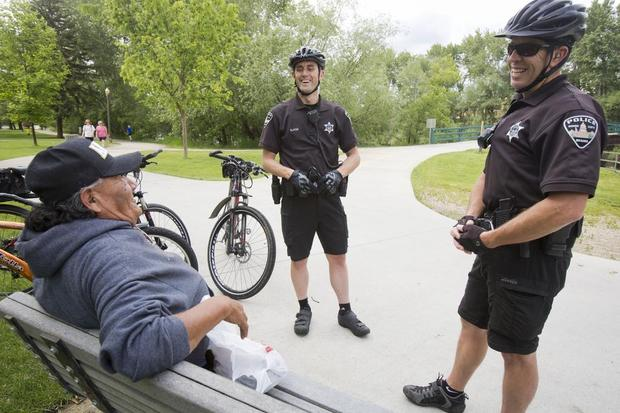 Boise's bike patrol team keeps an eye on our favorite recreation spots