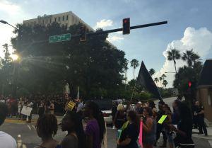 Hundreds protest for Black Lives Matter event in Tampa