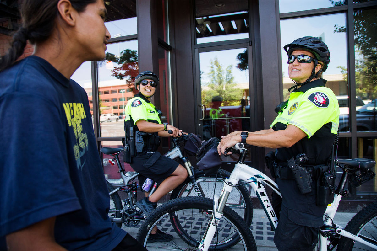 Bikes let Yakima police get closer to public