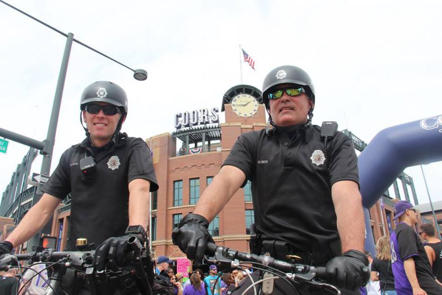 Even Denver's Bicycle Cops Don't Want to Ride on the Streets