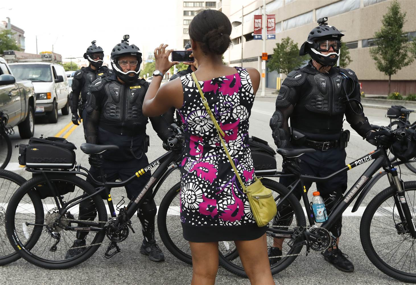 Cleveland Police Are Using Bikes To Prevent Violence At The RNC