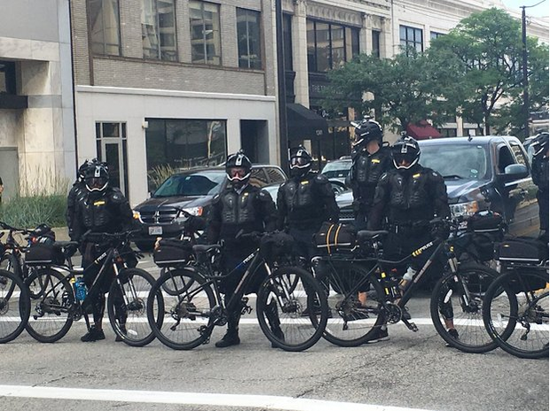Cleveland police chief: 'No such thing' as riot gear for officers during RNC