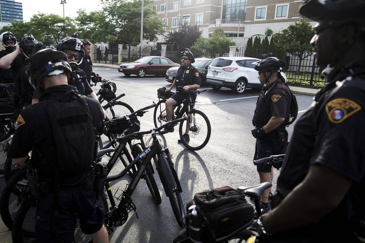 For Republican Convention Patrolling, Bicycles Are Said to Be Best
