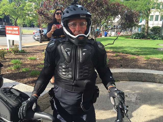 Rnc Bicycle Cops Are Sporting Slick Dystopian Riot Gear Ipmba