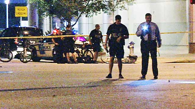 Police: Man shot multiple times by officer during confrontation in Orlando