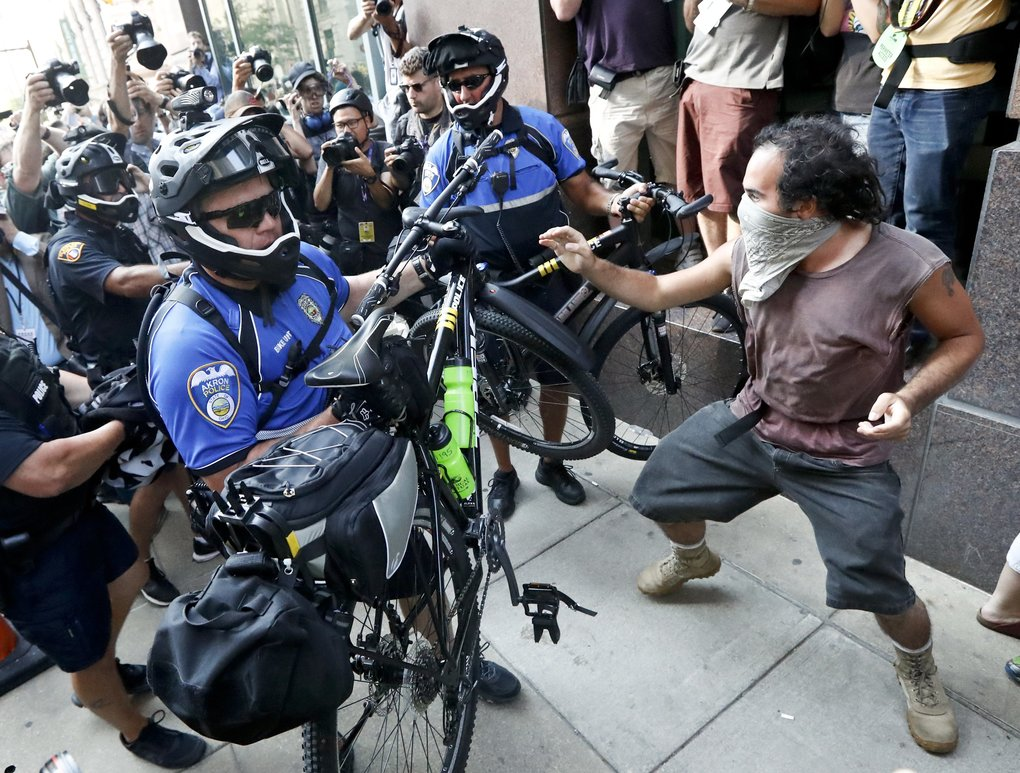 How Seattle's May Day protests are helping Cleveland bike cops at GOP convention
