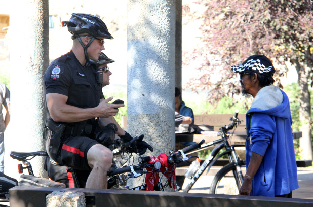 Edmonton Police's two-wheeled force hitting city streets
