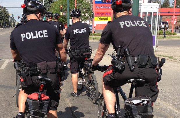 Poll: Do you think police officers on bikes is a good thing for Edmonton?