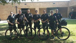 Pedals of Justice: Carrollton Police Department's bike patrol becoming more visible