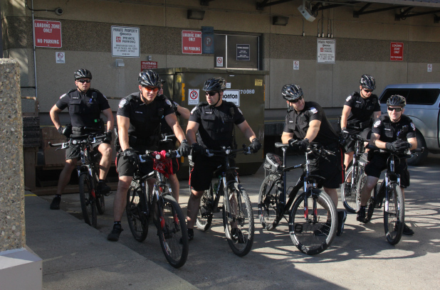 Edmonton Police training for bike usage a 'grueling' task