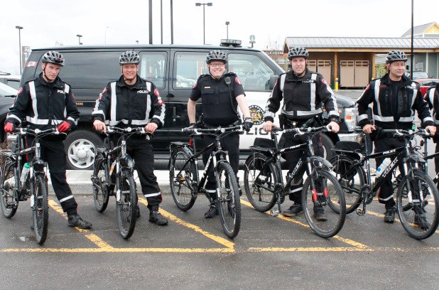 Edmonton police use bicycles to patrol but do other cities?