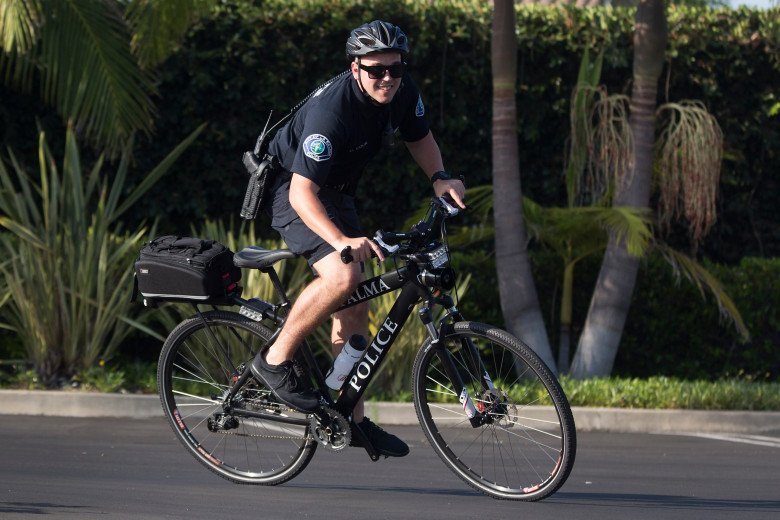 La Palma relaunches Police Department's bicycle patrol unit