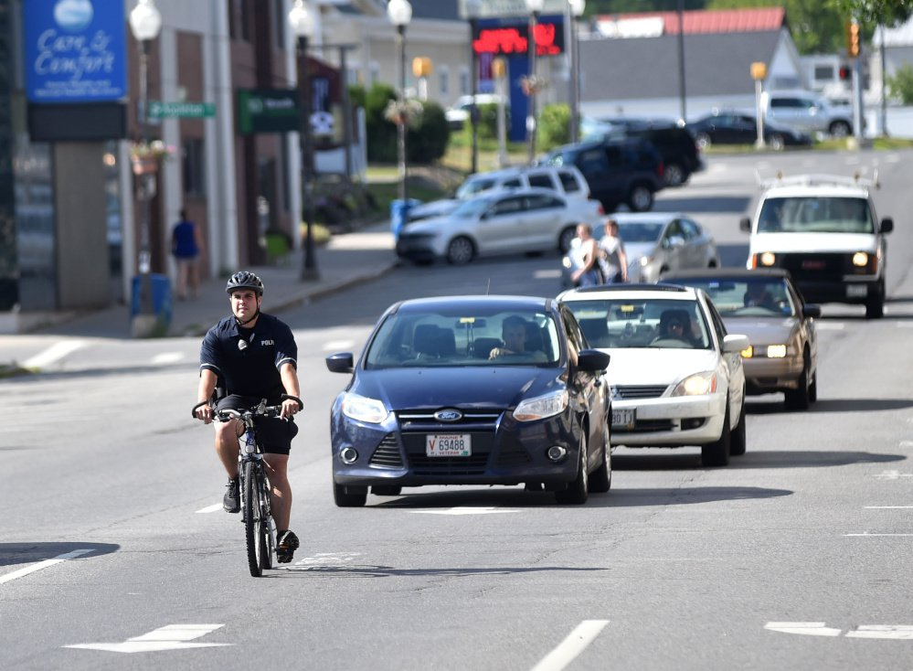 Waterville bike patrol on streets for 16th straight summer