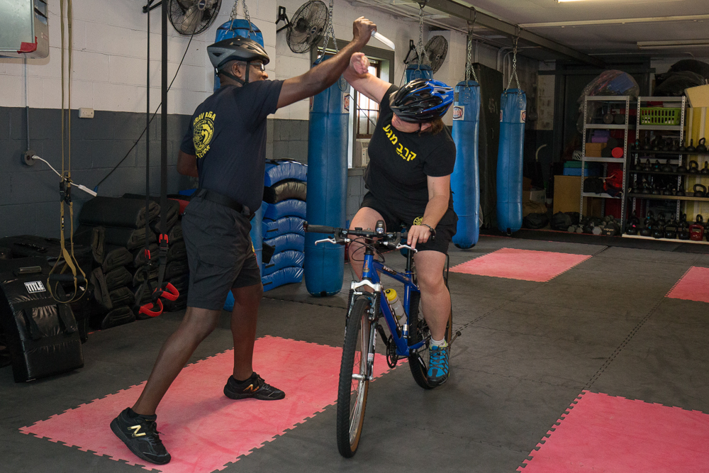 Krav Maga on Bicycles