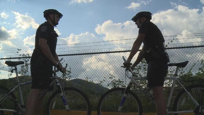 Police Department adds bicycle patrols to their evening patrols