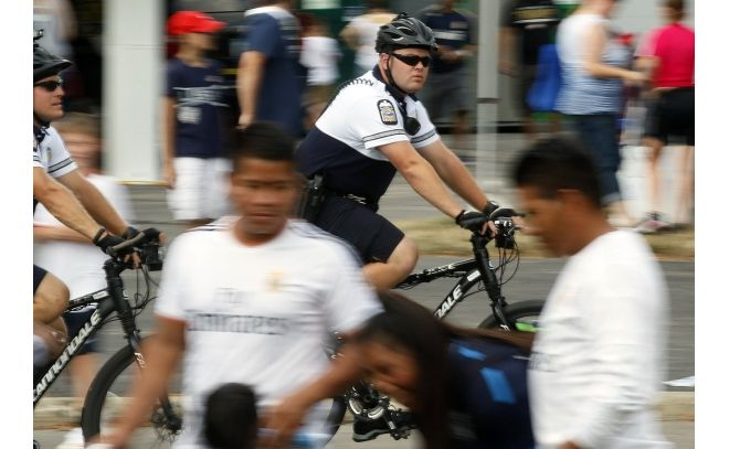 Columbus' bike cops see new world of policing