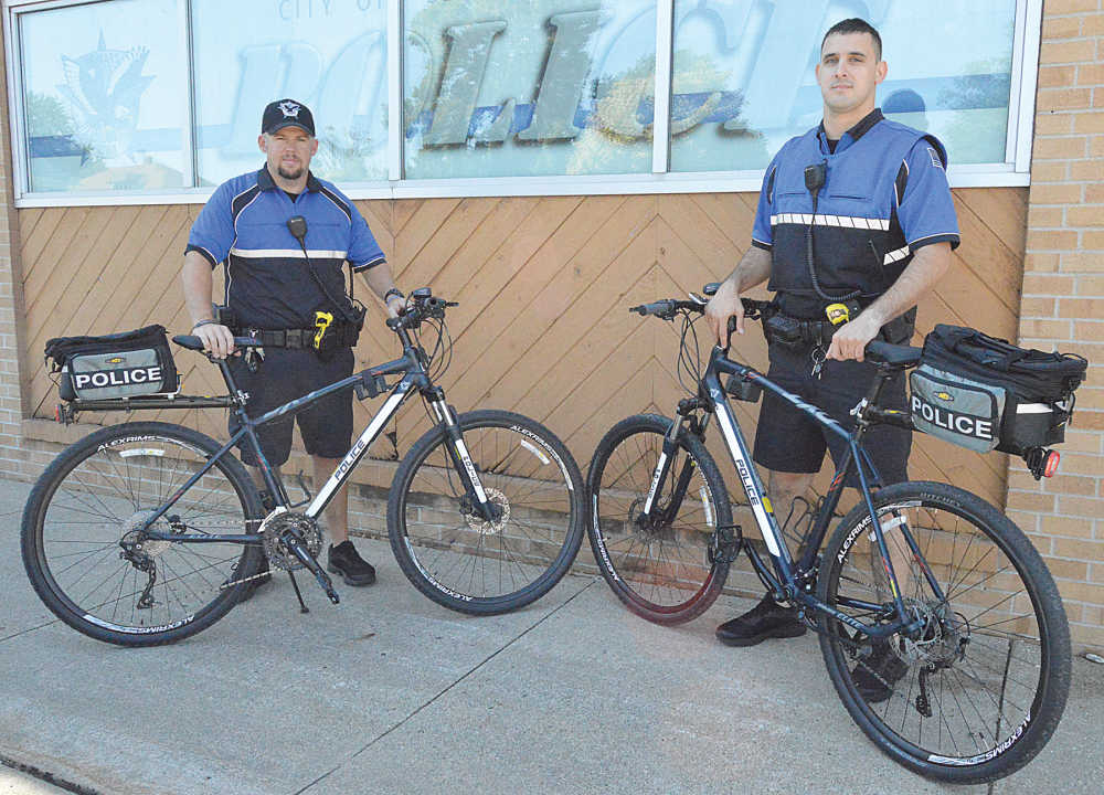 LPD Bike Patrol hits the streets of Le Mars