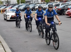 Toyota donates bicycles to Scranton police in honor of Officer Wilding